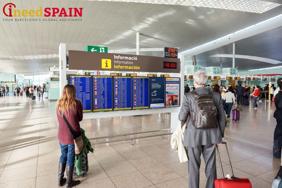 flight departure information barcelona